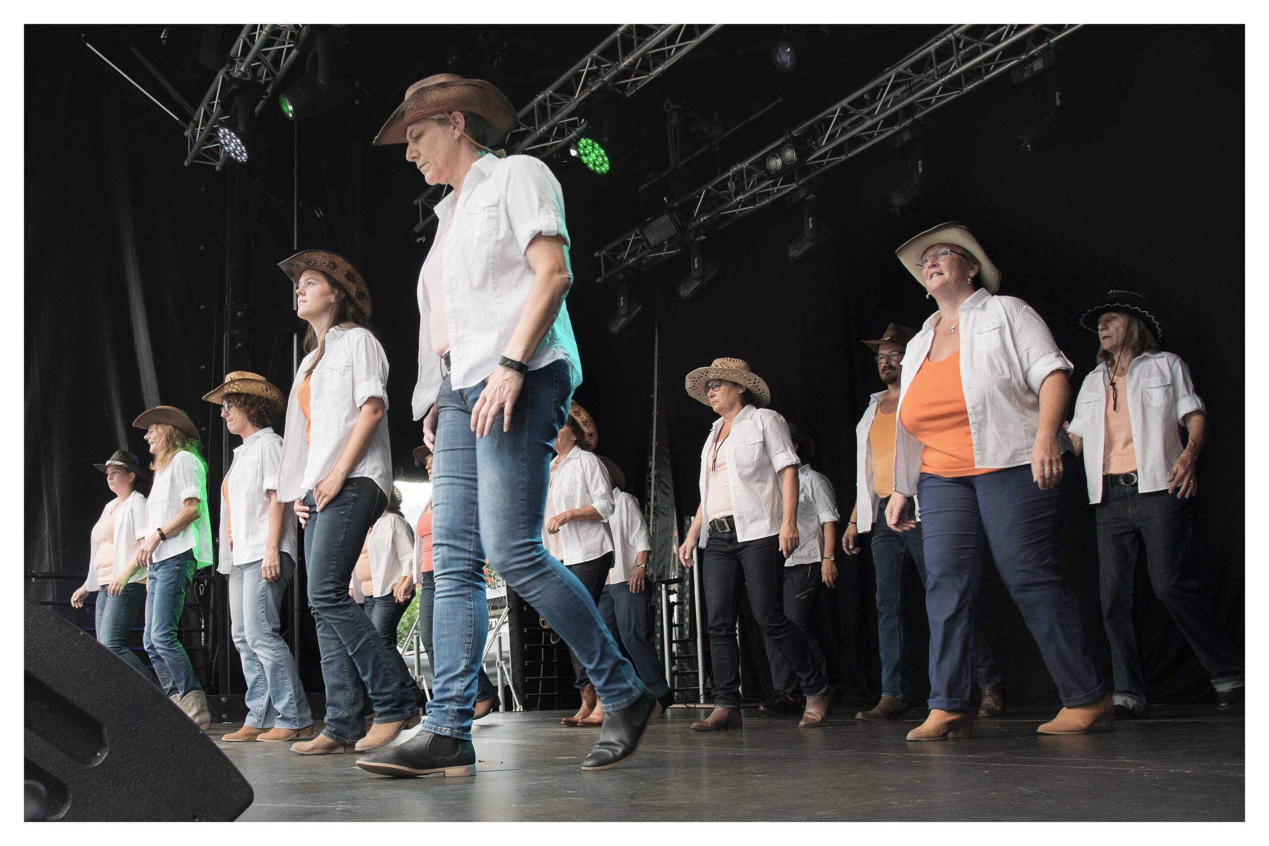 line-dance